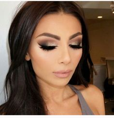 Absolutely love this look for like my friends summer wedding. Bridesmaids makeup inspo :) #TopLevelSalon