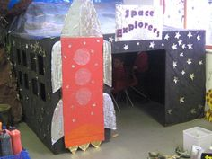 Space Explorers Display- great for a classroom or stage. Primary Teaching, Primary Classroom, Classroom Themes, Primary Resources, Classroom Displays Ks1, Classroom Resources, Space Classroom, Classroom Organisation, Classroom Environment