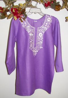 Women's cotton designertunics  tops long sleeves machine washable wrinkle free kurtas on sale. XS to 4X Hurry and save big and look beautiful and feel comfortable in soft amazing cotton tops. http://www.yourselegantly.com/advanced_search_result.php?keywords=designer+cotton+tu&x=0&y=0