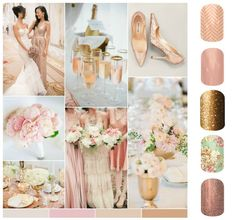 Rose gold is such a great trend for weddings!  https://laurarothlovesjams.jamberry.com/us/en/