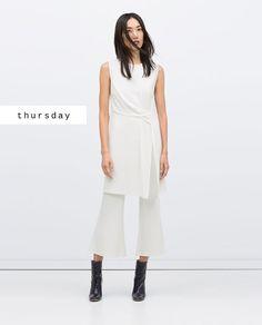 #zaradaily #thursday #woman #tunic #trousers