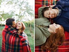blankets make great props for fall/winter shoots (pay attention to your patterns though)
