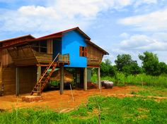 Bamboo homes for people living with HIV/AIDS cost just $2500