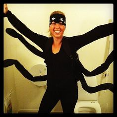 Last-minute #Halloween costume idea: spider