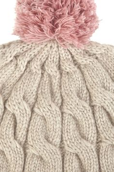 M.Patmos Cable-knit wool-blend beanie3