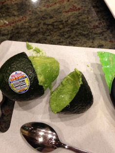 I'm making Guacamole and this happens like what?!