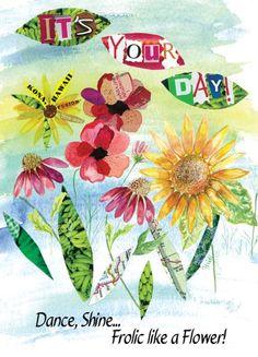 Sunflower fusion - Dance, shine....Frolic like a Flower! Chiquelixo.com