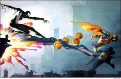 Spider-man vs the hobgoblin