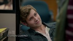 Caleb Ruminer from Finding Carter....  This is a good looking boy..