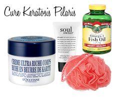 Cure Keratosis Pilaris - http://www.theprettypersuasion.com/cure-upper-arm-bumps/