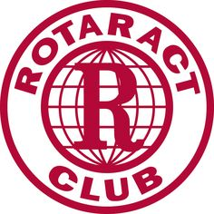 The official logo of Rotaract, a program sponsored by Rotary International.