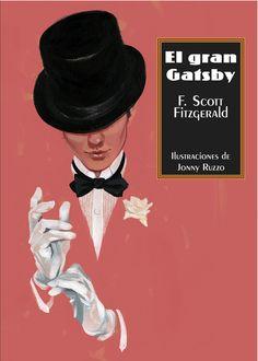 Novedades de Sexto Piso @EdSextoPiso: La selección de La Línea Clara: El gran Gatsby de Francis Scott Fitzgerald, ilustraciones de Jonny Ruzzo.