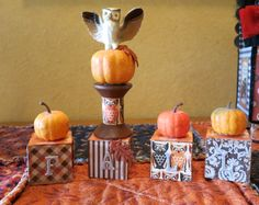 My Fall Spoolie Swap from Shirley! :)