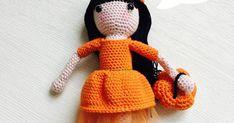 Annoo's Crochet World: Natasha My Fall  Princess Doll Free Tutorial