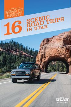 The western introduction to the All-American Road Scenic Byway 12 includes the famous red rock arch tunnels near Red Canyon. Mountain bikers can stop to ride Thunder Mountain, and everyone can shuttle in for a hike through Bryce Canyon. Plan an overnight in the lodge, or camp under the stars.