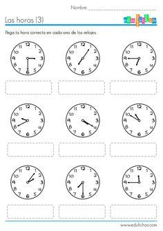 aprender-las-horas-ficha-pegatinas.png (570×810)