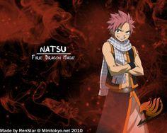 Anime Fairy Tail  Natsu Dragneel Fond d'écran