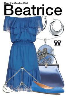"""""""Over the Garden Wall"""" by wearwhatyouwatch ❤ liked on Polyvore featuring Lord & Taylor, Judith Leiber, Bling Jewelry, Designers Remix, Bug, Talbots, wearwhatyouwatch and film"""