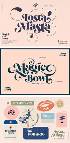 Creative Typography Design, Creative Fonts, Typographic Design, Slogan Design, Graphic Design Tools, Graphic Design Inspiration, Family Brand, Font Family, Brand Identity Design