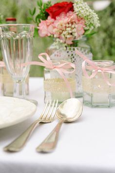 Tischdekoration Vintage Party Look by Williams & Gauld - Design. Wedding. Events.