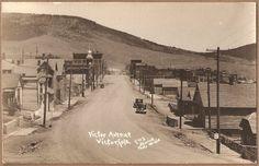 SHURICK RPPC~Victor,CO~Ave. / State Highway 67~nr Cripple Creek/Colorado Springs