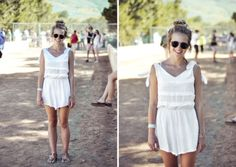 ELLE Style Reporter Niquita Bento went snap crazy at last weekend's Rocking the Daisies, bringing you. Elle Magazine, Daisies, Festival Fashion, White Dress, Street Style, Rock, Bento, Blackberry, Margaritas