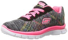 Skechers 'Skech Appeal Geo Gems' Girls Trainers (PinkPurple)