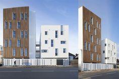 16 social housing units