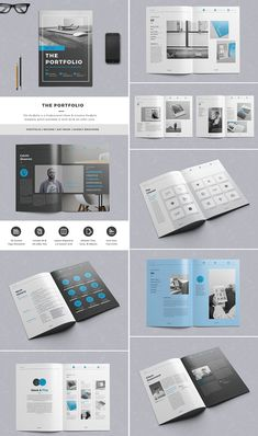 Brochure Template For InDesign A And Letter Amann Pinterest - Cool brochure templates