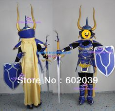 Final Fantasy dissidia warrior of light cosplay costumes and helmet and shield and sword whole set Final Fantasy, Suit Pants, Costume Accessories, Skinny Pants, Cargo Pants, Cosplay Costumes, Sword, Casual Pants, Helmet