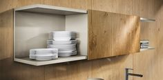 Design keuken bovenkastjes NX502 L212 Regaal