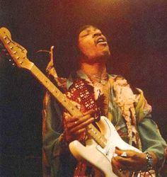 can never get enough of jimi playin' his heart out.