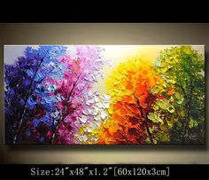 Original Abstract Painting, Modern Textured Painting,Impasto Landscape Textured Modern Palette Knife Painting,Painting on Canvas byChen Texture Painting On Canvas, Palette Knife Painting, Textured Painting, Canvas Wall Art, Wall Art Prints, Contemporary Wall Art, Canvas Designs, Clip Art, Beautiful Paintings