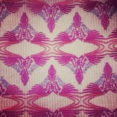 Come fly with me, let's fly, let's fly away... #ecru #ecruonline #sophia203 #parrot #embroidery #pouches #pink #tropical #ss2014 #takemetothetropics