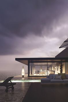 thelavishsociety:  House at the Beach by Santi Sanchez | LVSH