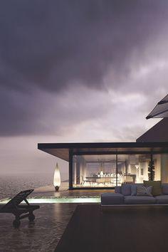 thelavishsociety:  House at the Beach by Santi Sanchez | LVSH