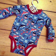 Erledigt: #jersey #knit #pirat #baby #body #onesie ✔️ #frautulpe #frautulpestoffe #nähen #sewing #stoff #fabric #handmade #selfmade #diy