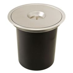 Hafele Built-In Single Waste Bin for Countertop - 12 Quarts (3 Gallons)