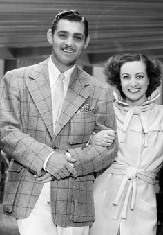 Joan Crawford and Clark Gable                              …