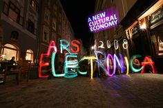 ARS ELECTRONICA 2008 by LICHTFAKTOR , via Behance
