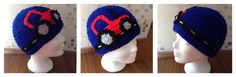 Modell Traktor  Mit kuscheligem Fleece Crochet Hats, Beanie, Fashion, Tractor, Model, Moda, La Mode, Fasion, Beanies