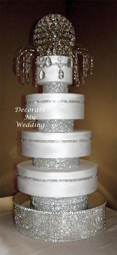 Crystal Wedding Decorations   60 Best Crystal Wedding Decor Images Crystal Wedding Decor