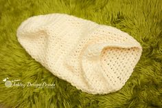 Ashley Designs Corner: Snuggle Bug Cocoon Baby Crochet Pattern