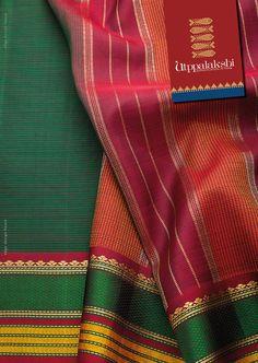 The magic of fine lines woven in the lovely bottle green saree. The border is a fine blend of silk thread and zari. A winning combination.#Utppalakshi #Sareeoftheday#Silksaree#Kancheevaramsilksaree#Kanchipuramsilks #Ethinc#Indian #traditional #dress#wedding #silk #saree#craftsmanship #weaving#Chennai #boutique #vibrant#exquisit #pure #weddingsaree#sareedesign #colorful #elite