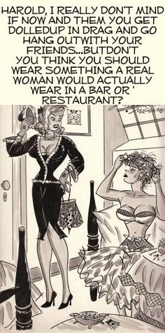 Being a crossdresser is NOT practical ... so go ahead and have fun !!! |Pinned from PinTo for iPad|
