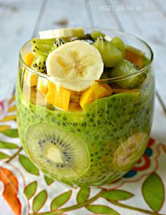 Green Chia Pudding
