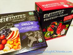 day to day MOMents: Organic SLAMMERS Super Food Snack Pouches by Kids ...