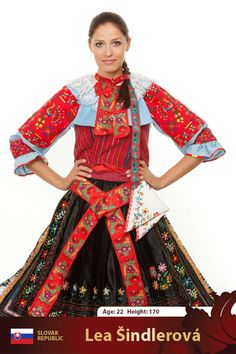 Kroje - Traditional Slovak Costumes - 7 page views remaining today Big And Beautiful, Beautiful People, Popular Costumes, Folk Embroidery, Folk Costume, World Cultures, Fashion History, Traditional Dresses, Elegant