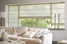 These Roman blinds on the windows . that would look chic and yet gen . Beautiful Color Combinations, Roman Blinds, Window Design, Drawing Room, Window Treatments, Home Furniture, Living Room Decor, Sweet Home, Windows