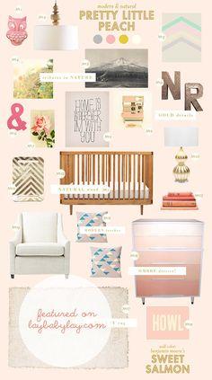 beautiful items pastel, peach, ombr dresser